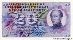 20 Francs SUISSE  1959 P.46g SUP+