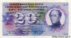 20 Francs SUISSE  1961 P.46i TTB