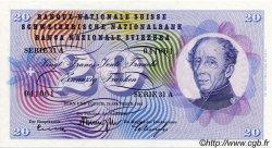 20 Francs SUISSE  1961 P.46i pr.NEUF