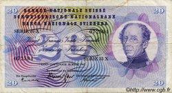20 Francs SUISSE  1963 P.46j TB+