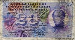 20 Francs SUISSE  1967 P.46n B
