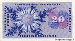 20 Francs SUISSE  1967 P.46n TTB+