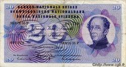 20 Francs SUISSE  1967 P.46o TTB
