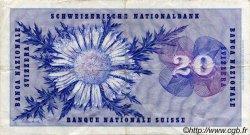 20 Francs SUISSE  1968 P.46p TTB