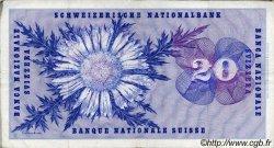 20 Francs SUISSE  1970 P.46r TB