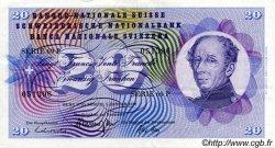 20 Francs SUISSE  1970 P.46r TTB+