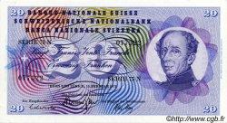 20 Francs SUISSE  1971 P.46s SPL