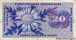 20 Francs SUISSE  1972 P.46t TB