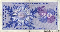 20 Francs SUISSE  1973 P.46u pr.TB