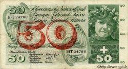 50 Francs SUISSE  1961 P.48a pr.TTB