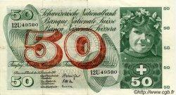 50 Francs SUISSE  1961 P.48b TTB+