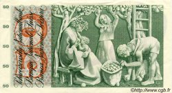 50 Francs SUISSE  1963 P.48c SUP à SPL