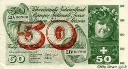 50 Francs SUISSE  1965 P.48f TTB+