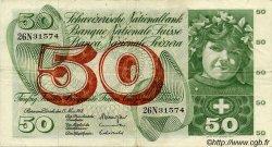 50 Francs SUISSE  1968 P.48h TTB