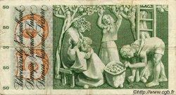 50 Francs SUISSE  1970 P.48j TB