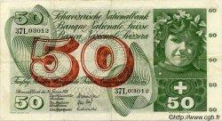 50 Francs SUISSE  1972 P.48l TTB