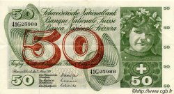 50 Francs SUISSE  1973 P.48m SUP
