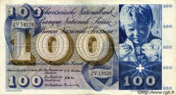 100 Francs SUISSE  1956 P.49a TTB+
