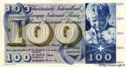 100 Francs SUISSE  1957 P.49b NEUF