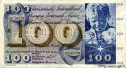 100 Francs SUISSE  1957 P.49b TTB