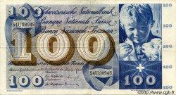 100 Francs SUISSE  1965 P.49h TTB