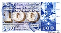 100 Francs SUISSE  1967 P.49i TTB+ à SUP