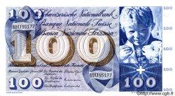 100 Francs SUISSE  1970 P.49l TTB+