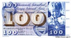 100 Francs SUISSE  1972 P.49n SUP