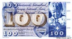 100 Francs SUISSE  1972 P.49n TTB+