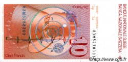 10 Francs SUISSE  1983 P.53e NEUF