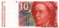 10 Francs SUISSE  1986 P.53f SUP