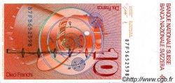 10 Francs SUISSE  1987 P.53g NEUF
