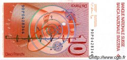 10 Francs SUISSE  1990 P.53h NEUF
