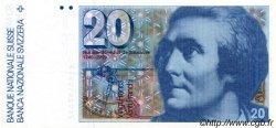 20 Francs SUISSE  1981 P.54c SUP