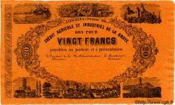 20 Francs SUISSE  1866 PS.262 SPL