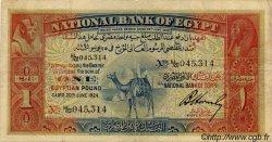 1 Pound ÉGYPTE  1924 P.018 TB