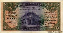 5 Pounds ÉGYPTE  1941 P.019c TTB+