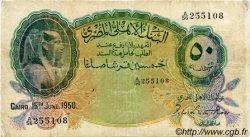 50 Piastres ÉGYPTE  1950 P.021d B