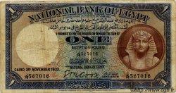 1 Pound ÉGYPTE  1932 P.022b TB