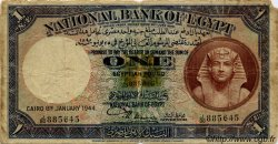 1 Pound ÉGYPTE  1944 P.022c B+