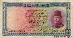 1 Pound ÉGYPTE  1951 P.024b B+