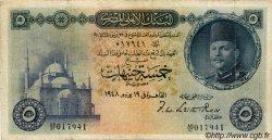 5 Pounds ÉGYPTE  1948 P.025a B+