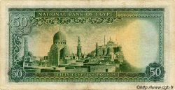 50 Pounds ÉGYPTE  1949 P.026a TB+