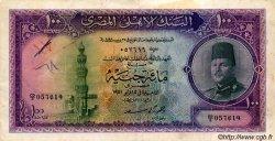 100 Pounds ÉGYPTE  1951 P.027b TB