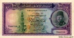 100 Pounds ÉGYPTE  1951 P.027b TTB