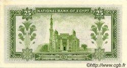 25 Piastres ÉGYPTE  1956 P.028 pr.NEUF