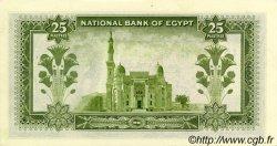 25 Piastres ÉGYPTE  1957 P.028c NEUF