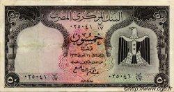 50 Piastres ÉGYPTE  1963 P.036a TTB
