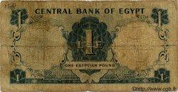 1 Pound ÉGYPTE  1965 P.037 pr.B