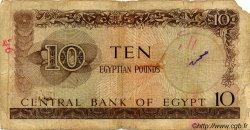 10 Pounds ÉGYPTE  1961 P.041 pr.B